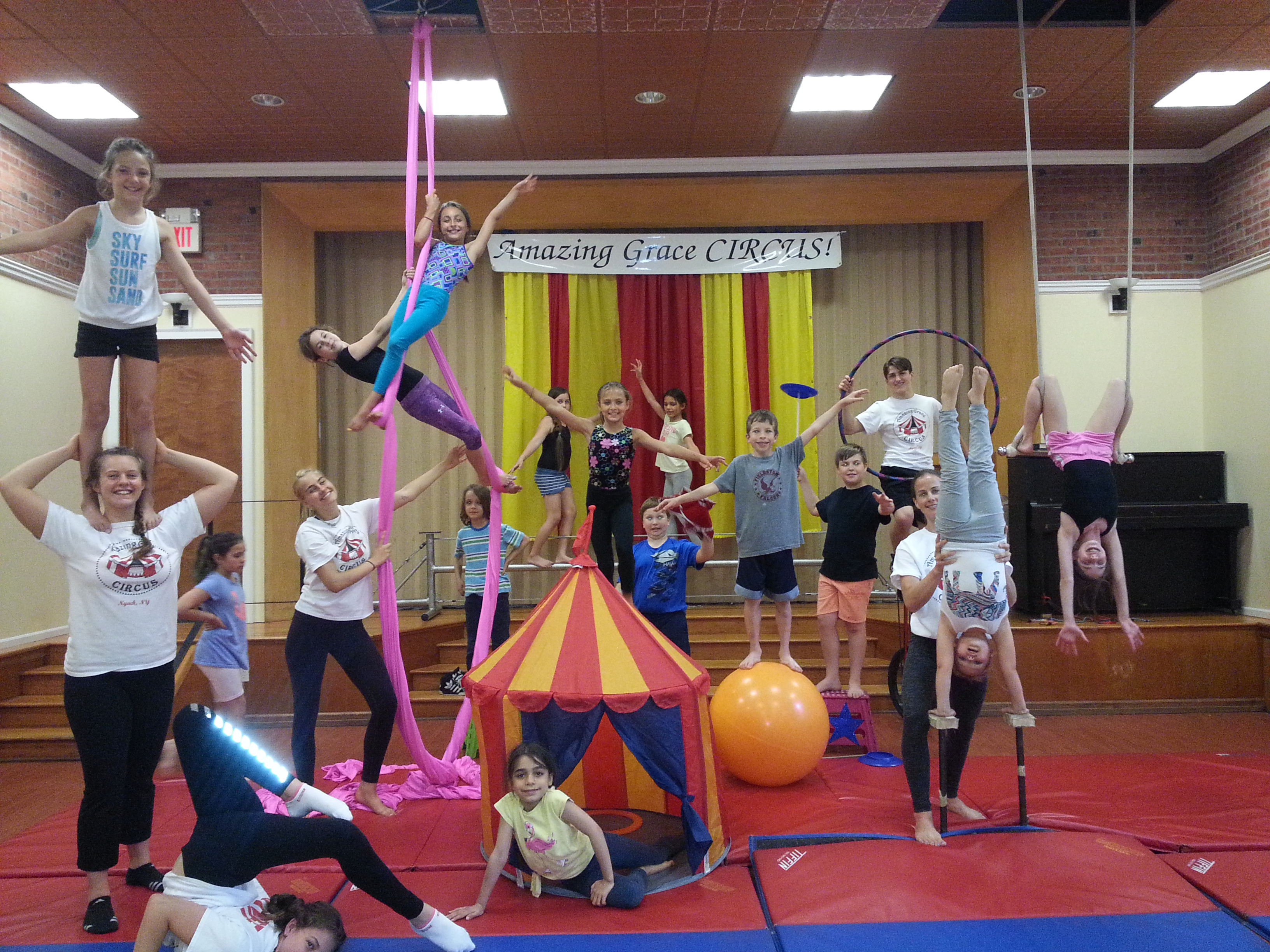 big top circus summer camp hudson valley