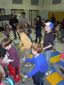 Image showing Circus Family Fun Night with Parents and Kids