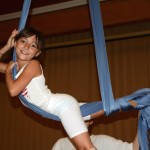 Girl Scout on Silks